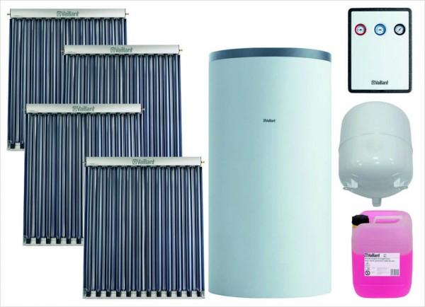 VAILLANT Paket 9.413/5 Solar SHU 4 x VTK 1140/2, VPS RS 800 B
