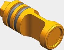 Viessmann Bypassventil d=22 mit O-Ringen