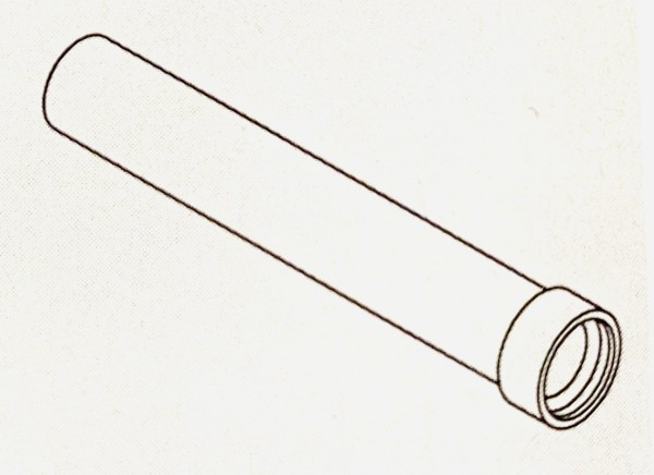Viessmann EPP-Rohr DN160 1m