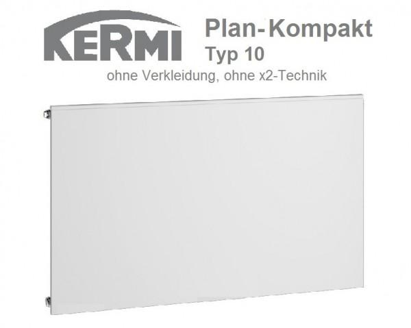 Kermi Plan-Kompaktheizkörper Plan-K, Typ 10, BH 905 x BL 2305 x BT 63 mm, versandkostenfrei in NRW