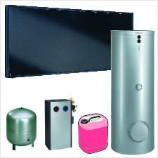 Paket Vitosol 200-FM SH2F, 6,9m², TW SM1 Vitocell 100-B 400 l, CVB
