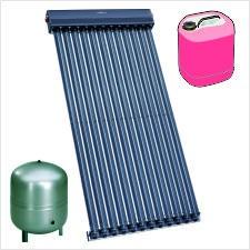 Viessmann Solarpaket Trinkwassererwärmung+Heizungsunterstützung: 3x Vitosol 300-TM SP3C 13,86 m²