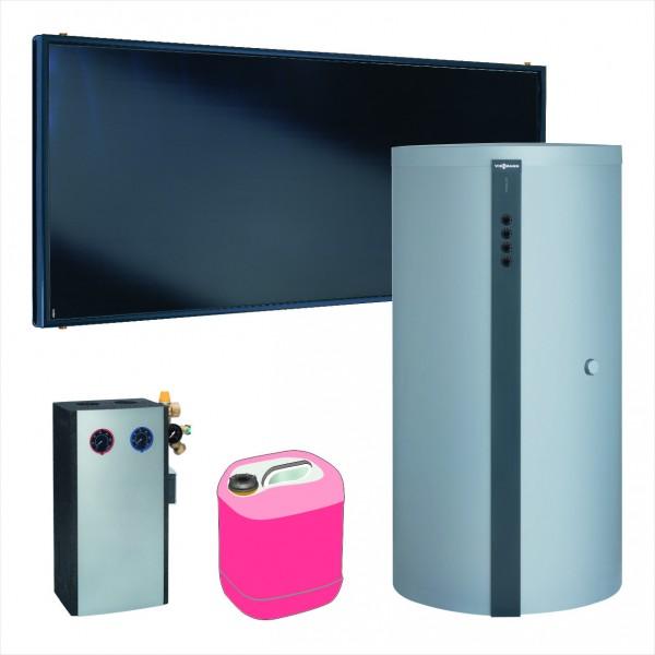 Paket Vitosol 200-FM, 4x SH2F, HU Vitocell 340-M 750l, Solarmodul
