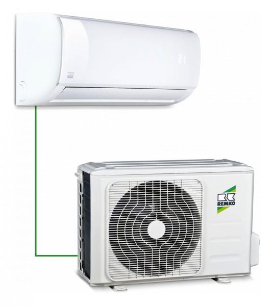 Remko Raumklimagerät, Split-System mit Montage-Schnellkupplung, BL 353 DC, Kühlleistung 3,5kW