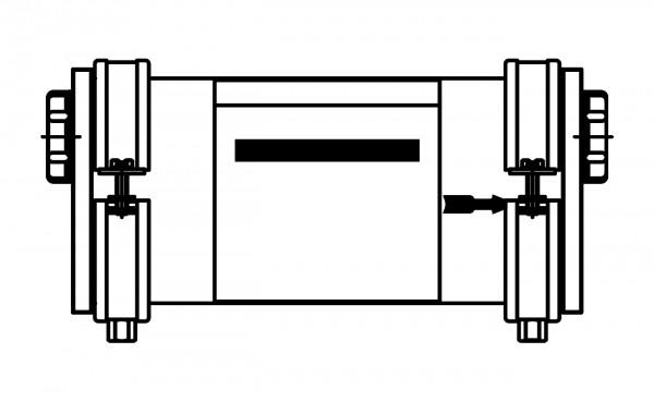 Viessmann Neutralisationseinrichtung mit Wandhalterung