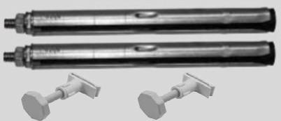Viessmann Bohrkonsolen-Set (2 Bohrkonsolen, 2 Abstandhalter)