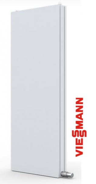 Viessmann Planheizkörper Carat Vertikal,Typ 21 zweilagig H1605 x B550 x T105(mm),1179 Watt (70/55°C)