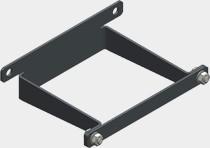 Viessmann Wandkonsole für Hydr. Weiche Q80