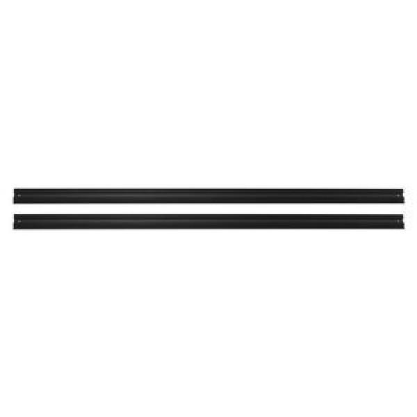 VAILLANT Schienenset (2 Stck) Aufdachmontage (Kollektor vertikal), Aluminium, schwarz eloxiert