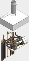 Viessmann Aufbau-Kit mit Mischer für Aufputzinstallation