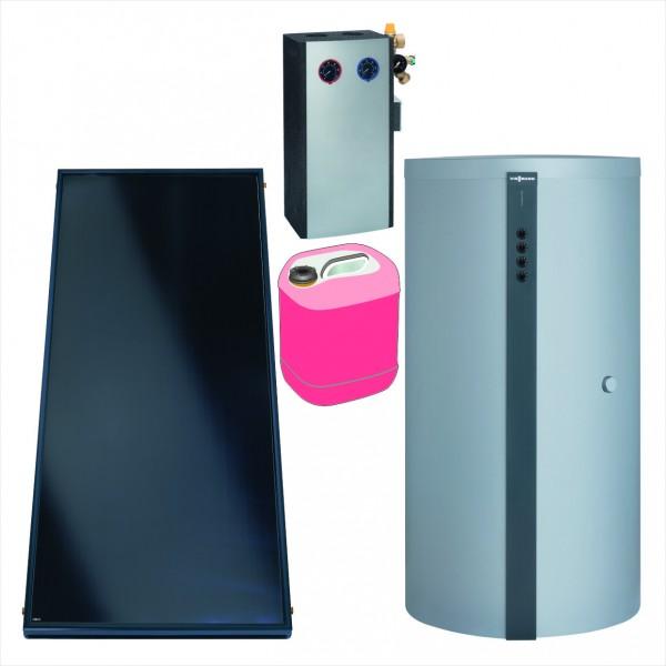 Paket Vitosol 200-FM, 6x SV2F, HU Vitocell 340-M 950l, Solarmodul