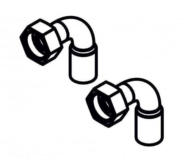 Viessmann Rohrbögen für Montagehilfe Aufputz Pressen und Löten für Gas-Umlaufwasserheizer