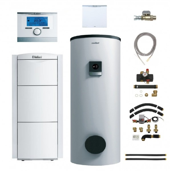 VAILLANT Paket 2.16/6 ecoVIT exclusiv VKK 226/4 LL, VIH S 400/3 MR (400 Liter), multiMATIC VRC 700/6