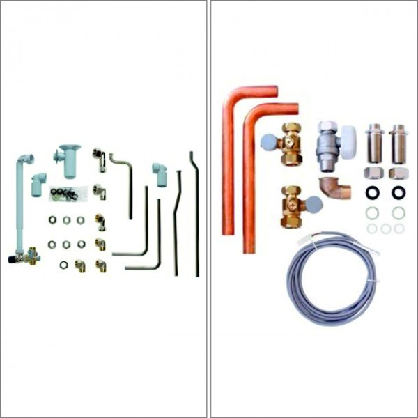 Vaillant Paket ecoTEC plus/exclusive VC mit VIH R 150 - VC-Installations-Set Aufputz
