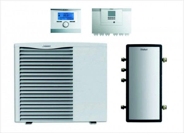 Vaillant Paket 4.22/4 aroTHERM VWL 85/3, 7 kW, multiMATIC 700/5, Pufferspeicher VWZ MPS 40