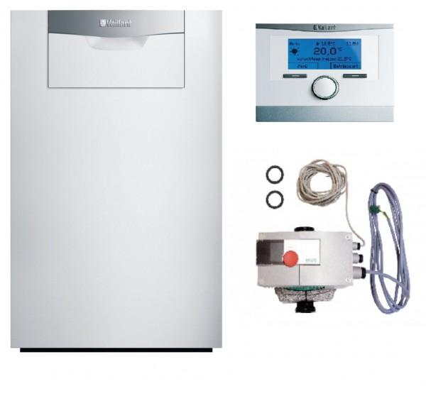 VAILLANT Paket 2.43/4 ecoCRAFT exclusiv VKK 1606/3-E (E/ LL), VRC 700/6 Mehrkreis-Regler, Pumpe