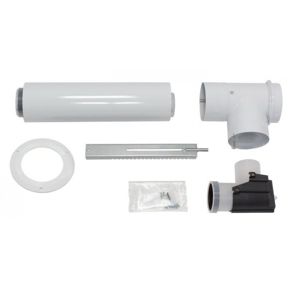 VAILLANT Basis-Anschluss-Set Luft-/Abgasführung, PP, 80/125 mm
