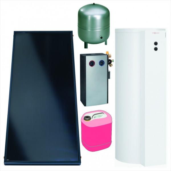 Viessmann Paket Vitosol 200-FM SV2F, 4,6m², TW SM1, Vitocell 100-W 300 l, CVUB