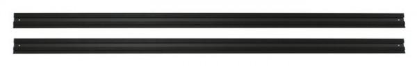 VAILLANT Schienenset (2) Aufdachmontage schwarz, Kollektor vertikal