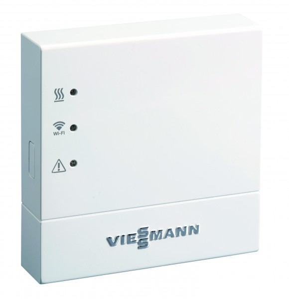 Viessmann Vitoconnect 100, Typ OPTO1, WLAN-Verbindung von der Heizungsanlage zum DSL-Router