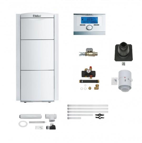 VAILLANT Paket 2.55/3 ecoVIT exclusiv VKK 226/4 LL, VRC 700/6, Abgas starr, ohne Warmwasserspeicher