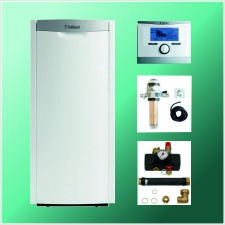 Vaillant Paket 3.31/6: icoVIT exclusive VKO 256/3-7, 25 kW, multiMATIC VRC 700/5, Zubehör