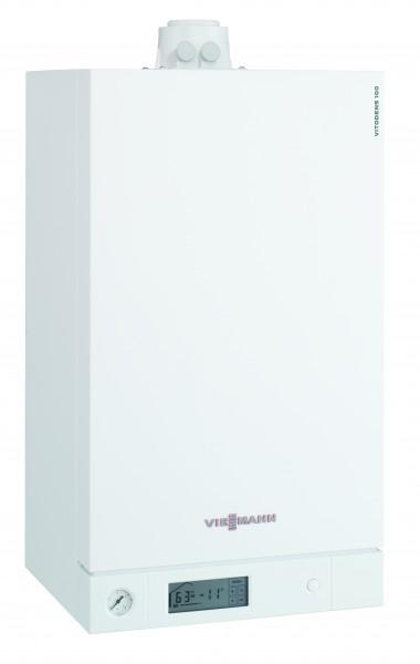 Viessmann Vitodens 100-W 19 kW, Regelung für angehobenen Betrieb, für Erdgas E/LL, MatriX-Brenner