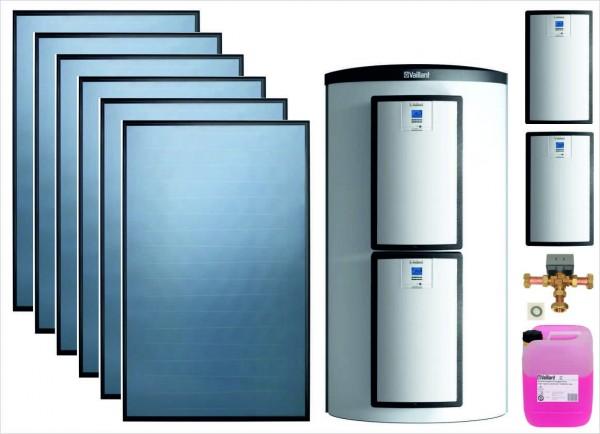 VAILLANT Solarpaket 9.502 SHU 6 x VFK 135 VD, VPS 800/3-7, VPM 15 D