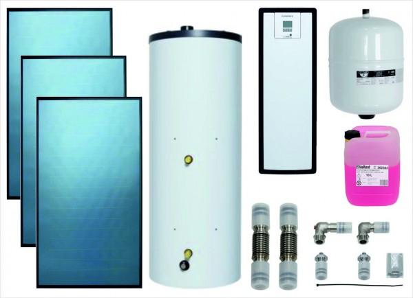 VAILLANT Paket 9.202/3 Solar SWW 3x VFK 125, VIH S2 350/4 B, VMS 8