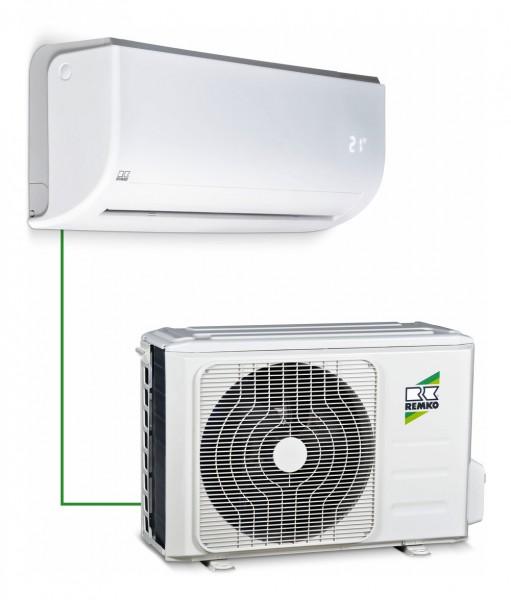 Remko Komfort-Raumklimagerät, Split-System, Typ RVT 264 DC, Kühlleistung 2,6kW