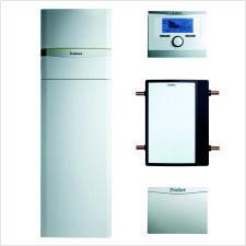 VAILLANT Set 4.58/3 flexoCOMPACT VWF 118 /4 mit fluoCOLLECT Wasser/Wasser