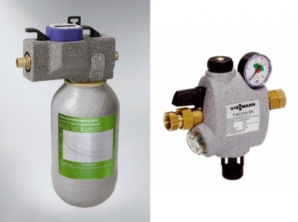 Viessmann Heizwasser-Behandlung mit Heizwasserenthärtung und FüllCombi