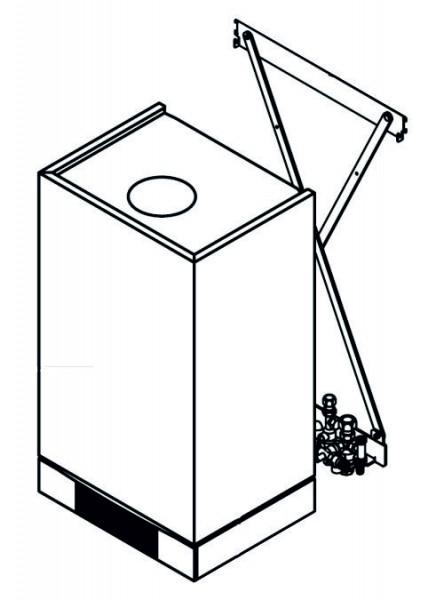 Viessmann Montagehilfe für Aufputzmontage Vitoladens 300-W