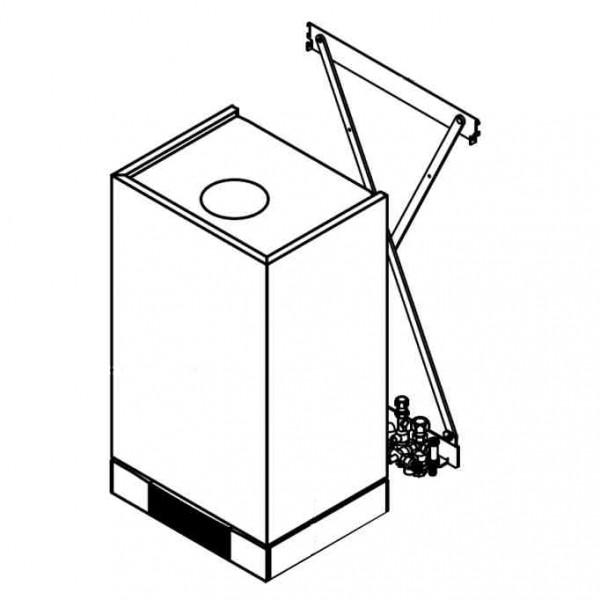 Montagehilfe Aufputz Schraub, 10bar