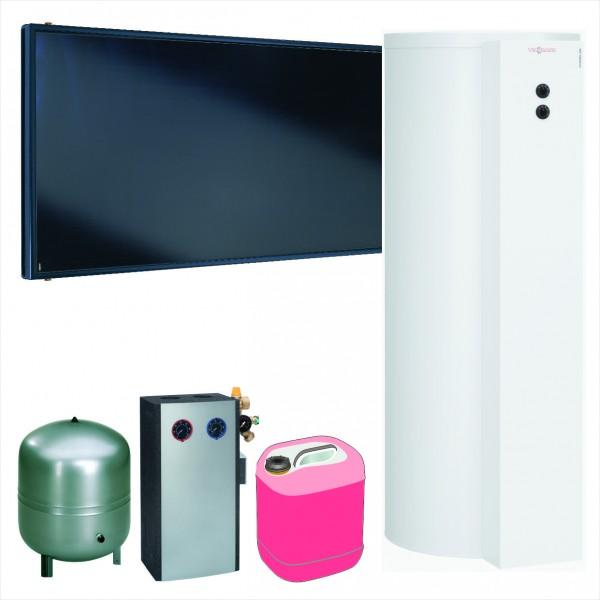 Viessmann Paket Vitosol 200-FM SH2F, 4,6m², TW SM1, Vitocell 100-W 300 l, CVUB