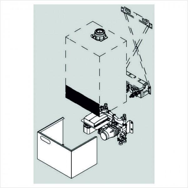 Viessmann Unterbau-Kit mit Mischer in Verbindung mit witterungsgeführter Regelung