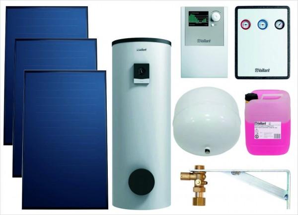 VAILLANT Paket 9.209/3 Solar SWW 3 x VFK 155 V, VRS 570, VIH S 400 MR