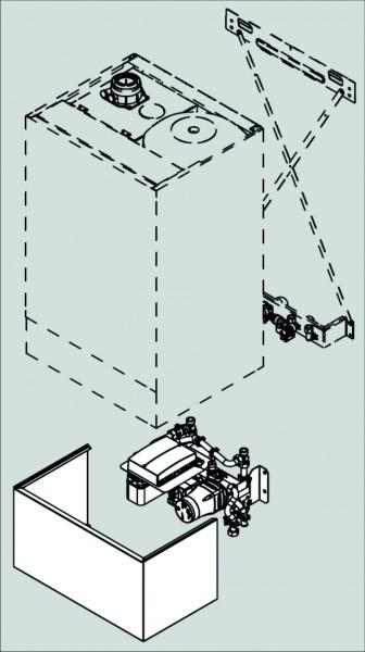 Viessmann Unterbau-Kit Kompakt