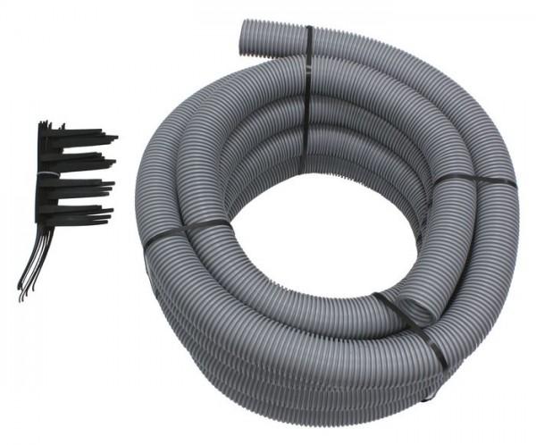 VAILLANT Set 5 Abgasleitung Brennwert für flexible Abgasleitung DN 80, PP, 15m