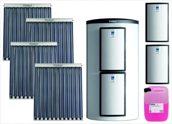 VAILLANT Solar Paket SHU 9.437/3 4 x VTK 1140/2, VPS 800/3