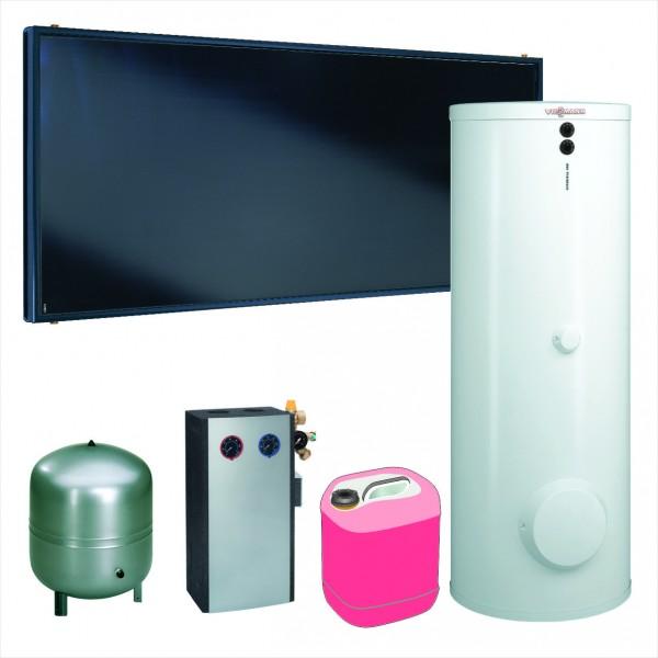 Paket Vitosol 200-FM SH2F, 6,9m², TW SM1, Vitocell 100-W 400 l, CVB