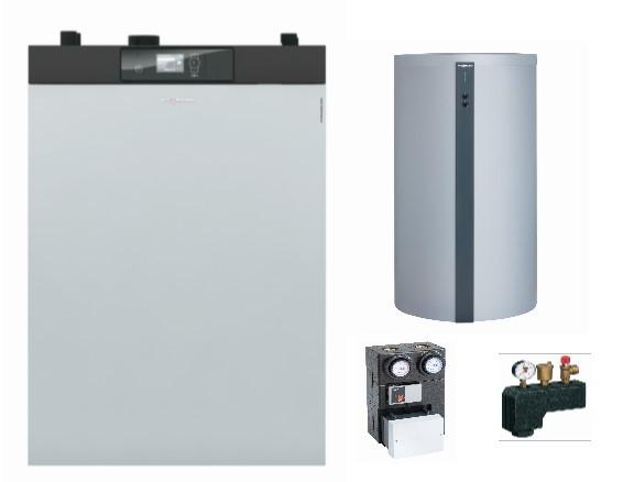 Paket Vitoligno 300-C, 12 kW